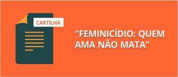 feminicídio : quem ama não mata.